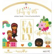 Our Family Mini Sticker Book - This Is Us - Paper House