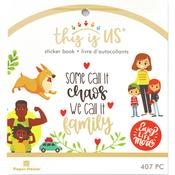 Family Life Mini Sticker Book - This Is Us - Paper House