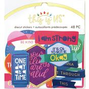 Bright Self Care Diecut Stickers - This Is Us - Paper House