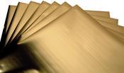 Gold -  Effectz Decorative Foil Sheets 6x6 - Sizzix