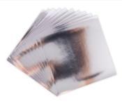 Silver -  Effectz Decorative Foil Sheets 6x6 - Sizzix