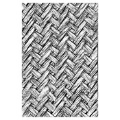 Intertwine 3D Texture Fades Embossing Folder By Tim Holtz - Sizzix