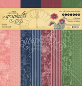 Blossom 12x12 Patterns & Solids Pad - Graphic 45