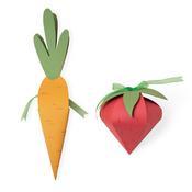 Carrot & Strawberry Box Bigz Plus Dies - Sizzix