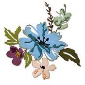 Brushstroke Flowers #2 Thinlits Dies by Tim Holtz - Sizzix