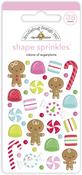 Visions Of Sugarplums Shape Sprinkles - Doodlebug