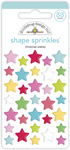 Christmas Wishes Shape Sprinkles - Doodlebug