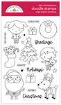 Night Before Christmas Doodle Stamp - Doodlebug