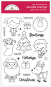 Night Before Christmas Doodle Stamp - Doodlebug - PRE ORDER