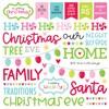 Night Before Christmas Chit Chat Ephemera - Doodlebug