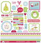 Night Before Christmas This & That Sticker Sheet - Doodlebug