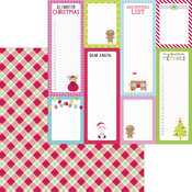 Santa Stocking Paper - Night Before Christmas - Doodlebug