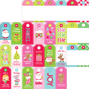 Gift Tags Paper - Night Before Christmas - Doodlebug
