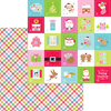 Cozy Quilt Paper - Night Before Christmas - Doodlebug
