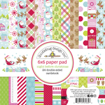 Night Before Christmas 6x6 Paper Pad - Doodlebug - PRE ORDER