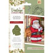 St. Nicholas Nature's Garden Vintage Christmas Stamps & Dies - PRE ORDER