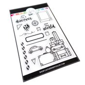Discover The World Stamp Set - Catherine Pooler