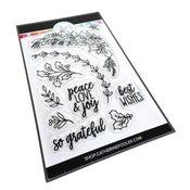 Peace Love & Holly Stamp Set - Catherine Pooler