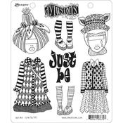 Just Be Dyan Reaveley's Dylusions Cling Stamp
