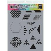 """1.5"""" Quilt Dyan Reaveley's Dylusions Stencils"""