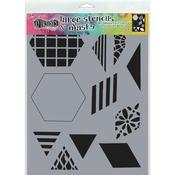 """2"""" Quilt Dyan Reaveley's Dylusions Stencils"""