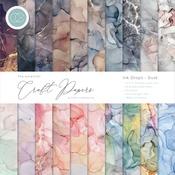 Dusk Ink Drops - 12x12 Paper Pad - Craft Consortium