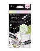 Delicate Florals - Spectrum Noir Classique Alcohol Markers - Crafters Companion