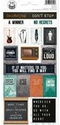 #02 Cardstock Stickers - Free Spirit - P13 - PRE ORDER
