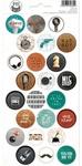 #03 Cardstock Stickers - Free Spirit - P13