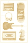 #02 Die-Cut Chipboard Embellishments - Free Spirit - P13