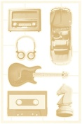 #02 Die-Cut Chipboard Embellishments - Free Spirit - P13 - PRE ORDER