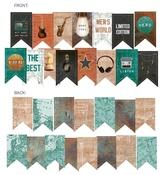 Banner Cardstock Die-Cuts - Free Spirit - P13 - PRE ORDER