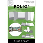 Folio 4  6.5 x 6.5 - White - Photoplay