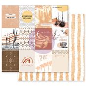 Just Go With It Paper - Golden Desert Collection - Prima