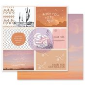 Wish You Were Here Paper - Golden Desert Collection - Prima