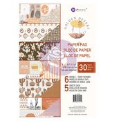 Golden Desert Collection A4 Paper Pad - Prima
