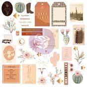 Golden Desert Collection Ephemera Set #1 - Prima