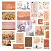 Golden Desert Collection Ephemera Set #2 - Prima