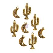 Golden Desert Collection Metal Embellishments #2 - Prima