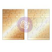 Golden Desert Collection Word Stickers - Prima