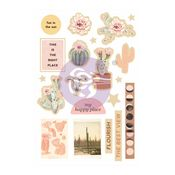 Golden Desert Collection Wood Embellishments - Prima