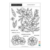 In Bloom Stamp Set - Concord & 9th