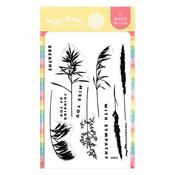 Herb Silhouettes Stamp Set - Waffle Flower Crafts