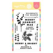 Spotlight Holiday Elements Stamp Set - Waffle Flower Crafts