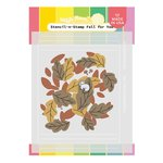 Fall For You Stencil-N-Stamp - Waffle Flower Crafts