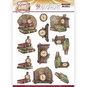Clock Punchout Sheet - Good Old Days - Find It Trading - PRE ORDER