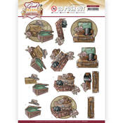 Suitcase Punchout Sheet - Good Old Days - Find It Trading - PRE ORDER