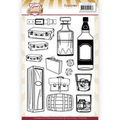 Whiskey Good Old Days Clear Stamps - Good Old Days - Find It Trading - PRE ORDER