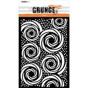 NR. 55 A5 Stencil - Grunge - Studio Light - PRE ORDER