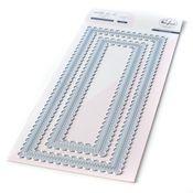 Slim Stitched Scallop Rectangles Essentials - Pinkfresh - PRE ORDER